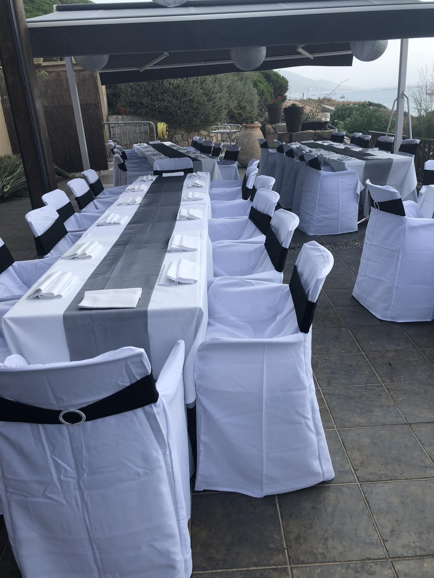 table invitées